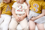 Personalized Kids Organic Bodysuit