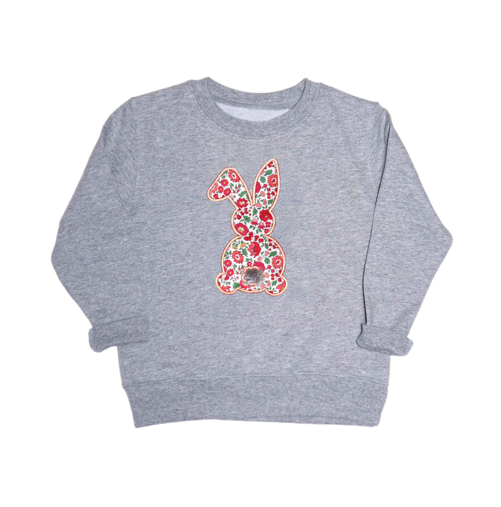 Bunny Kids Embroidered Sweatshirt