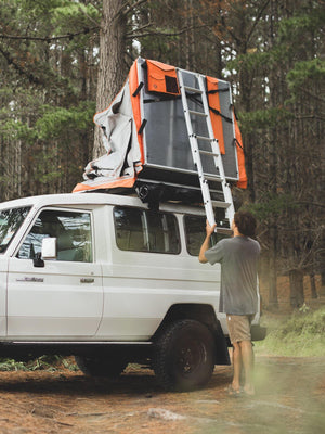Crows Nest Roof Top Tent - Regular - Orange
