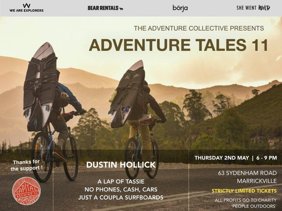 Adventure Tales XI - The Laps Tassie w/ Dustin Hollick