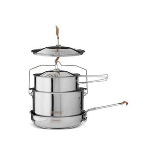 Stainless Steel CampFire Cookset - Large