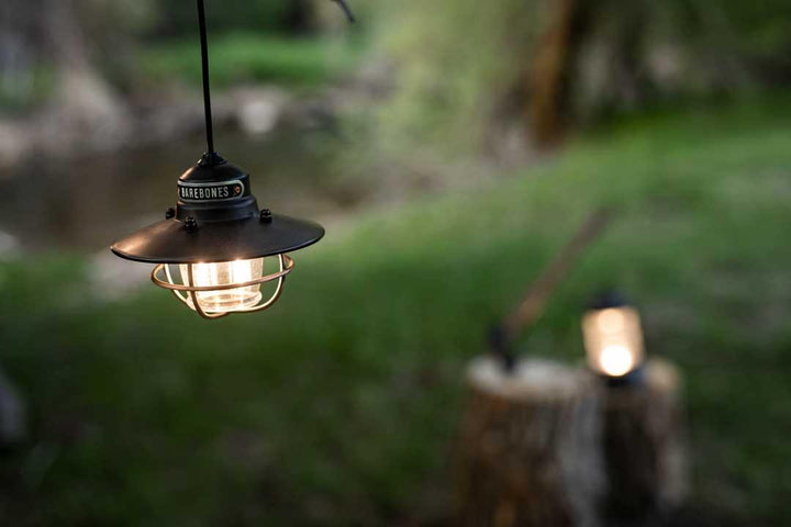 Barebones Single Edison Pendant Light