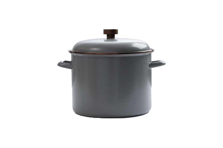 Barebones Enamel Stock Pot