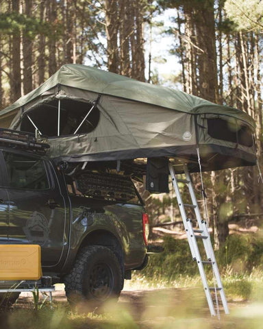 Crow's Nest Roof Top Tent - Extended - Green