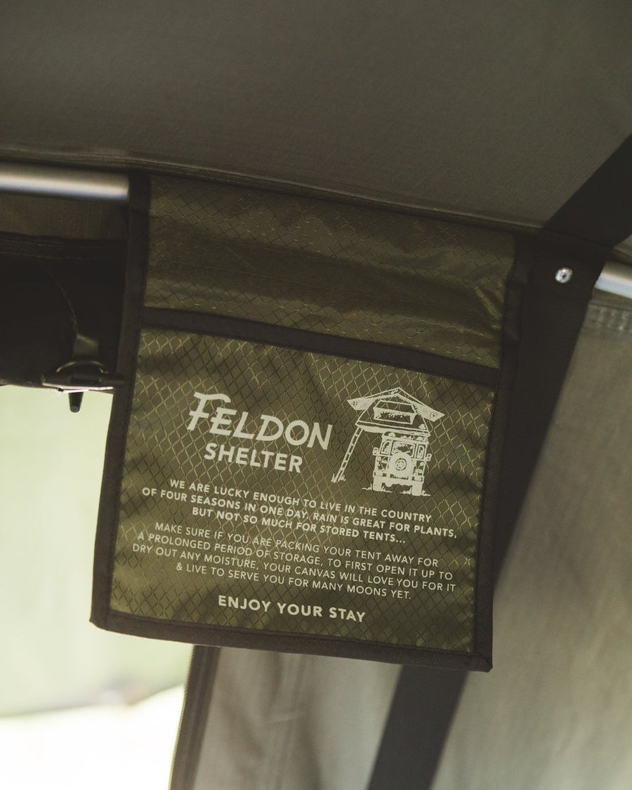 Feldon Shelter Rooftop Tent Crow's Nest Green Adventure Merchants Marrickville Australia