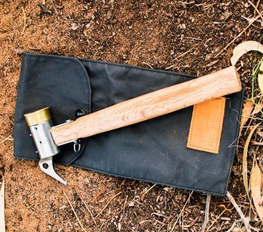 Red Roads Canvas Hammer & Tool Pouch
