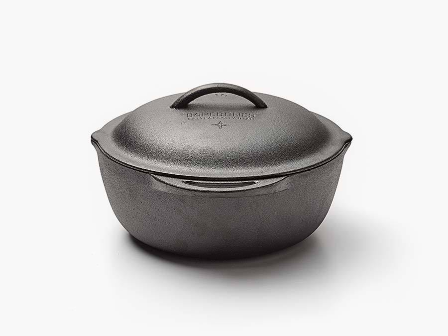 "12"" Cast Iron Crock Pot"