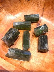 Raw Green Tourmaline