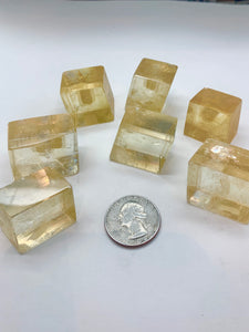Golden Calcite (Ice land spar)