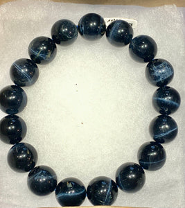 Blue tiger eye bracelet (Hawks Eye)