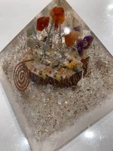 Quartz Organite tree of life