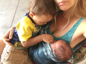 Breastfeeding Friendly Baby Carrier from Birth