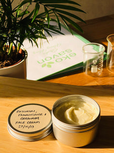 Natural Face Creams & Body Lotions Workshop