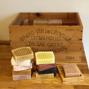 Mixed Soap Box - 1kg (includes a free Bamboo Soap Holder)
