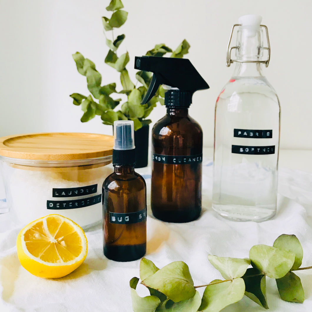 Natural + Waste-Free Cleaning Products Workshop with Scott's Apothecary