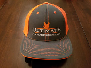 Blaze Orange Fitted Hat