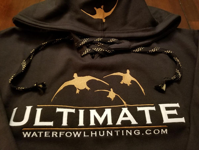 Waterfowl Hunting Laced Hoodie