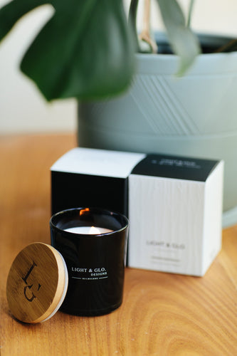 LIGHT & GLO Monochrome candle (4 scents Available)