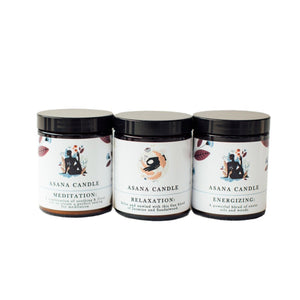 LIGHT & GLO Asana candle (3 scents available)