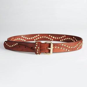 HOLLSTAR Leather studded Belt