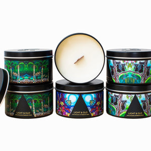 LIGHT & GLO Soul collection travel tin (2 scents available)