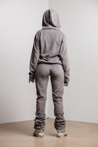 Wolf Grey Heavy Fleece Set