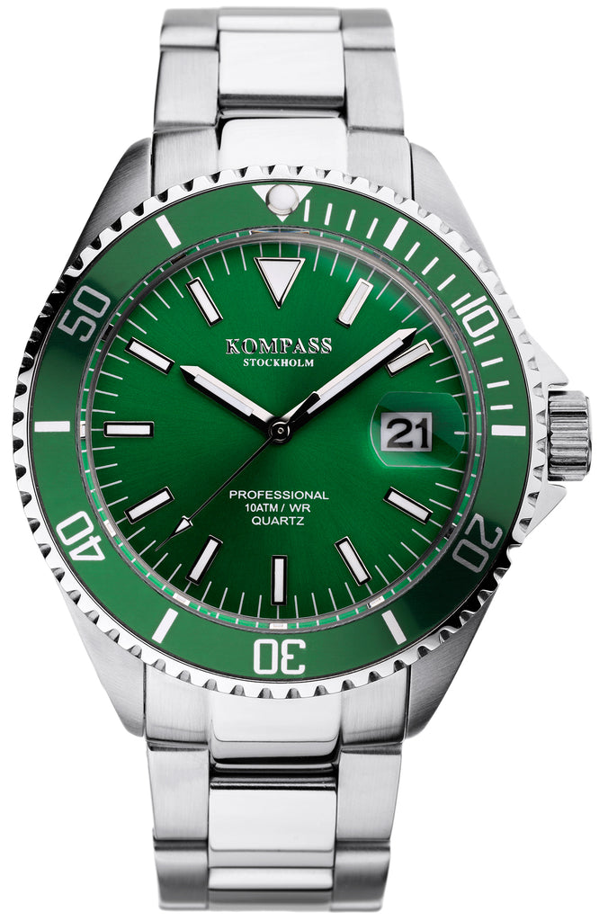 KOMPASS PROFESSIONAL DIVER GREEN
