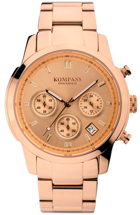 KOMPASS METROPOLITAN ROSE GOLD