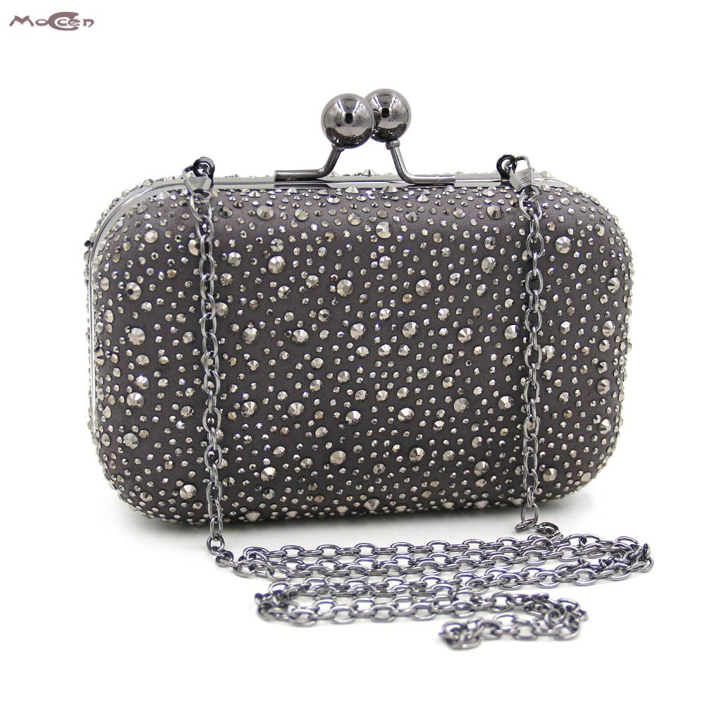 Moccen Evening Bags Women Handbag Beaded Day Clutches Luxury Evening Purese  Lady Party Clutch Bag Designer 80ff790c71b1e