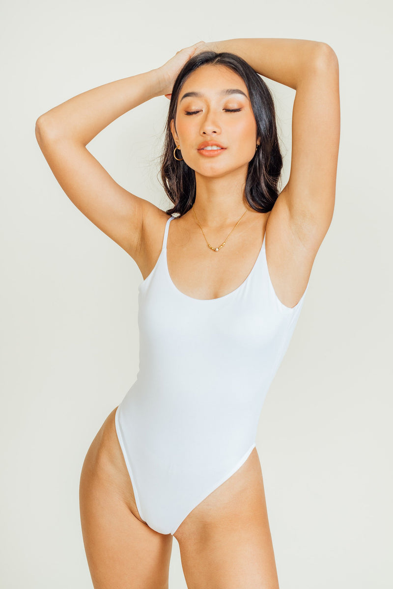 Tousey Backless Seamless Bodysuit