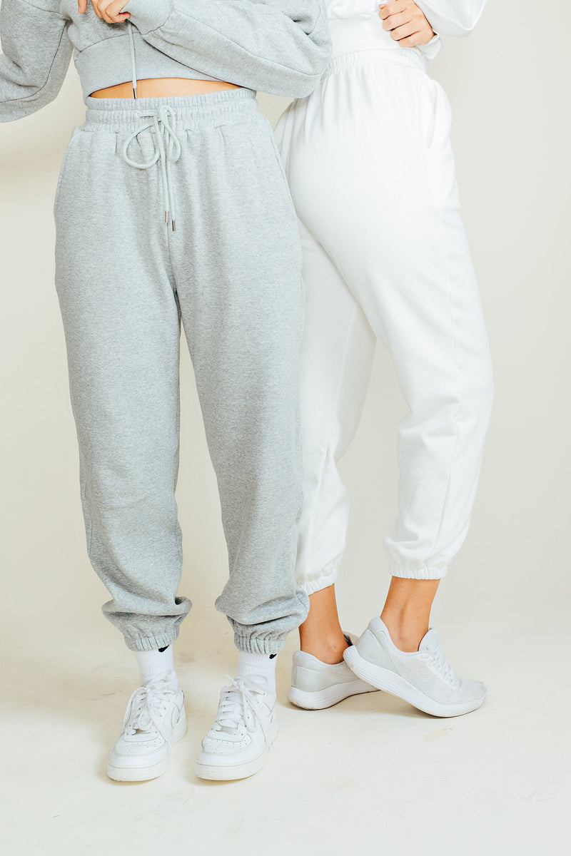 Brennan Crop Top & Joggers Set