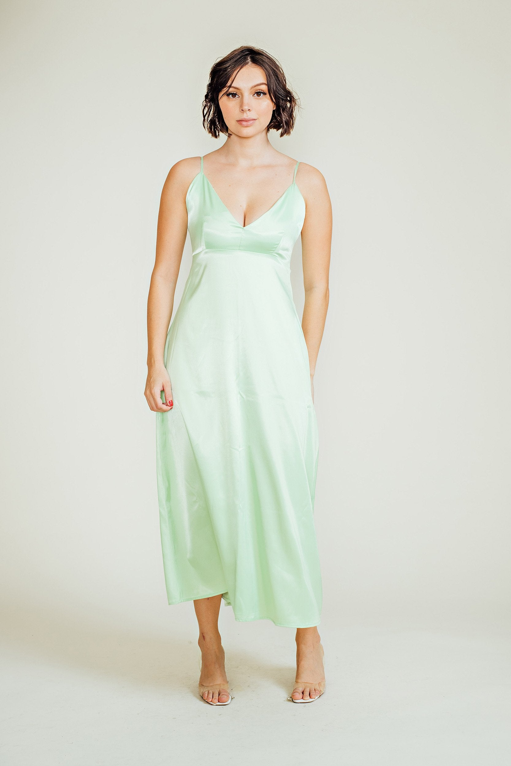 Valerie Silk Maxi Dress