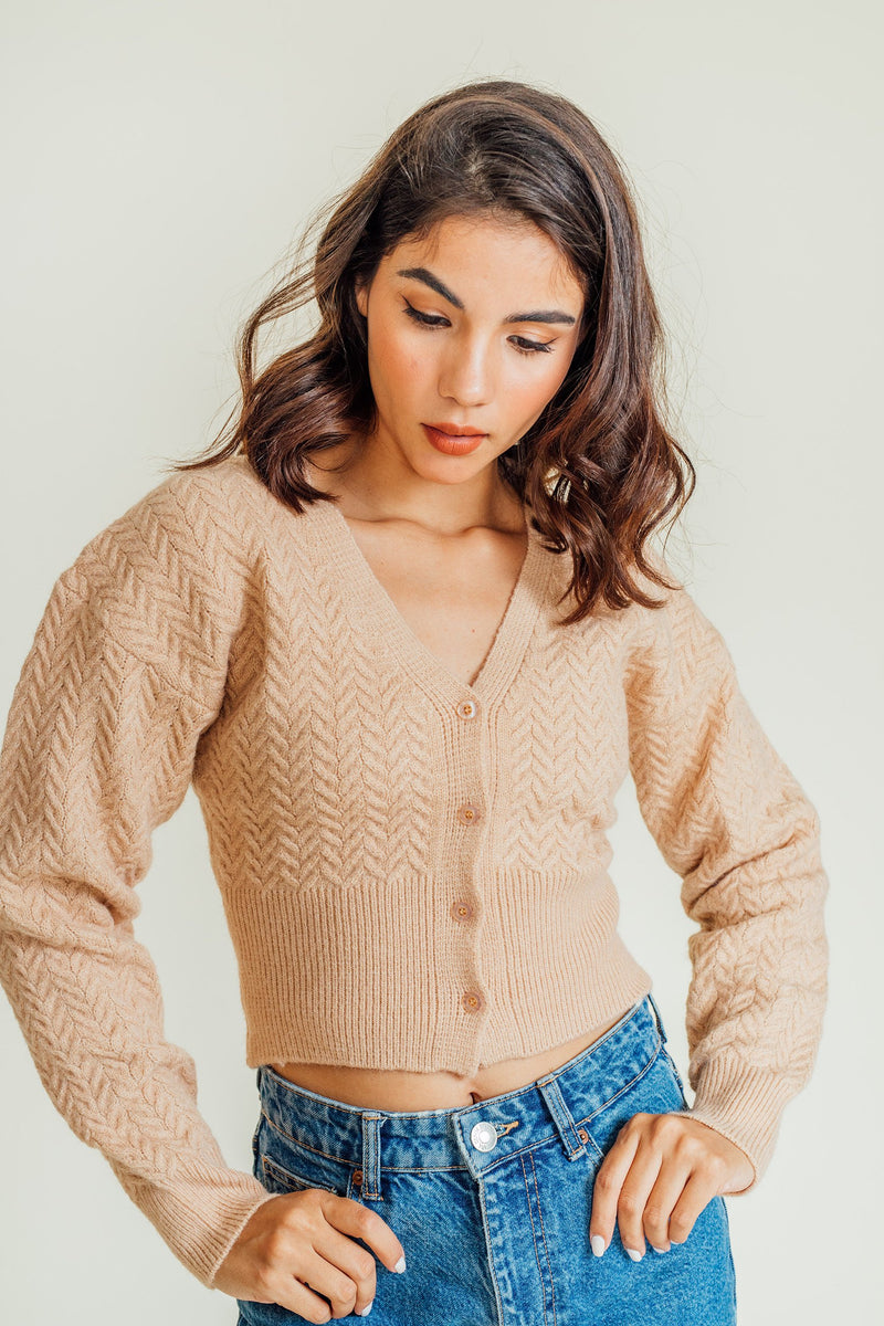 Bambi Knitted Buttondown Top