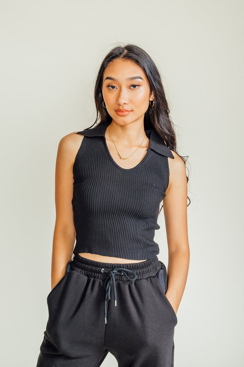 Kirsten Ribbed Top