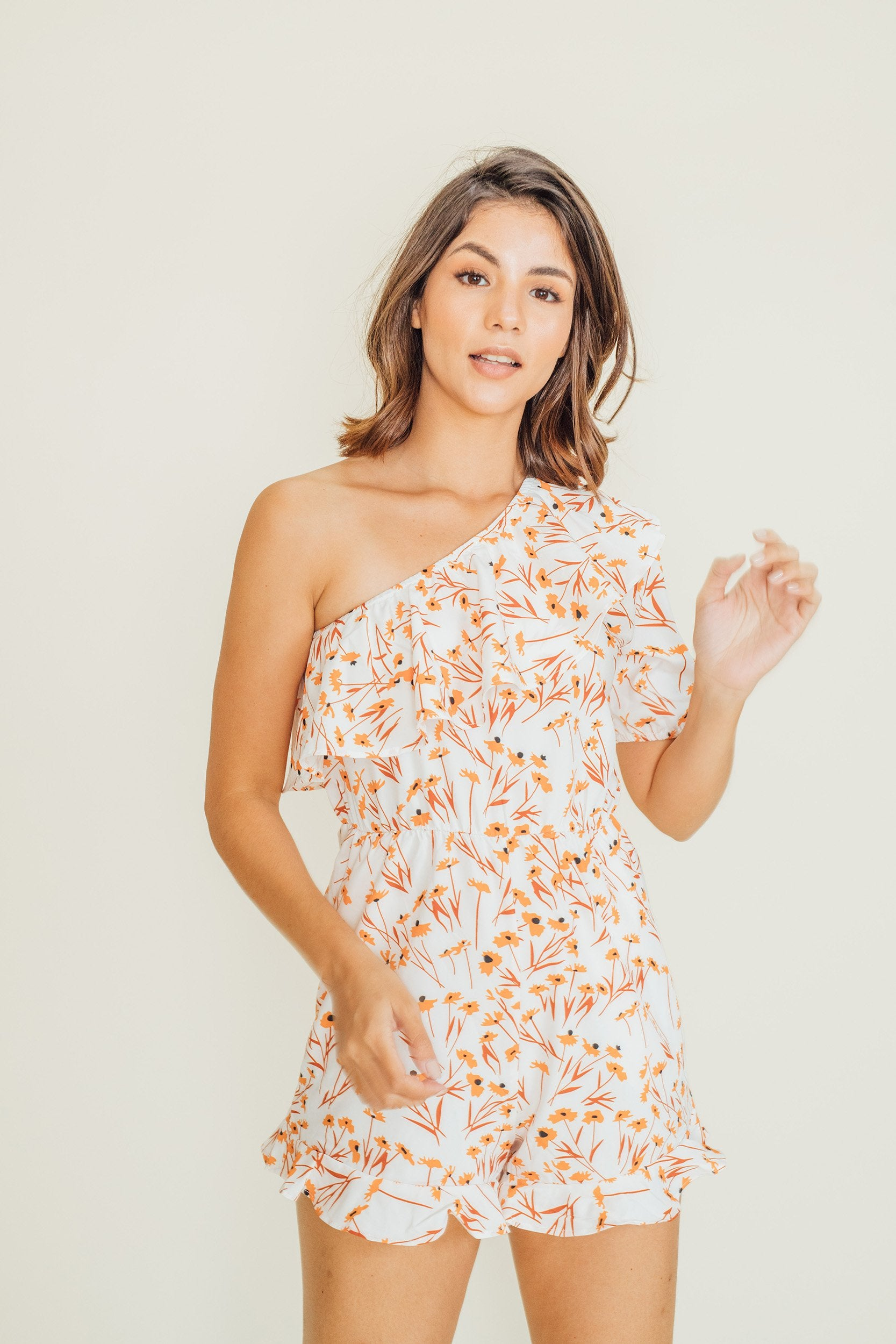 Luci One Sided Romper
