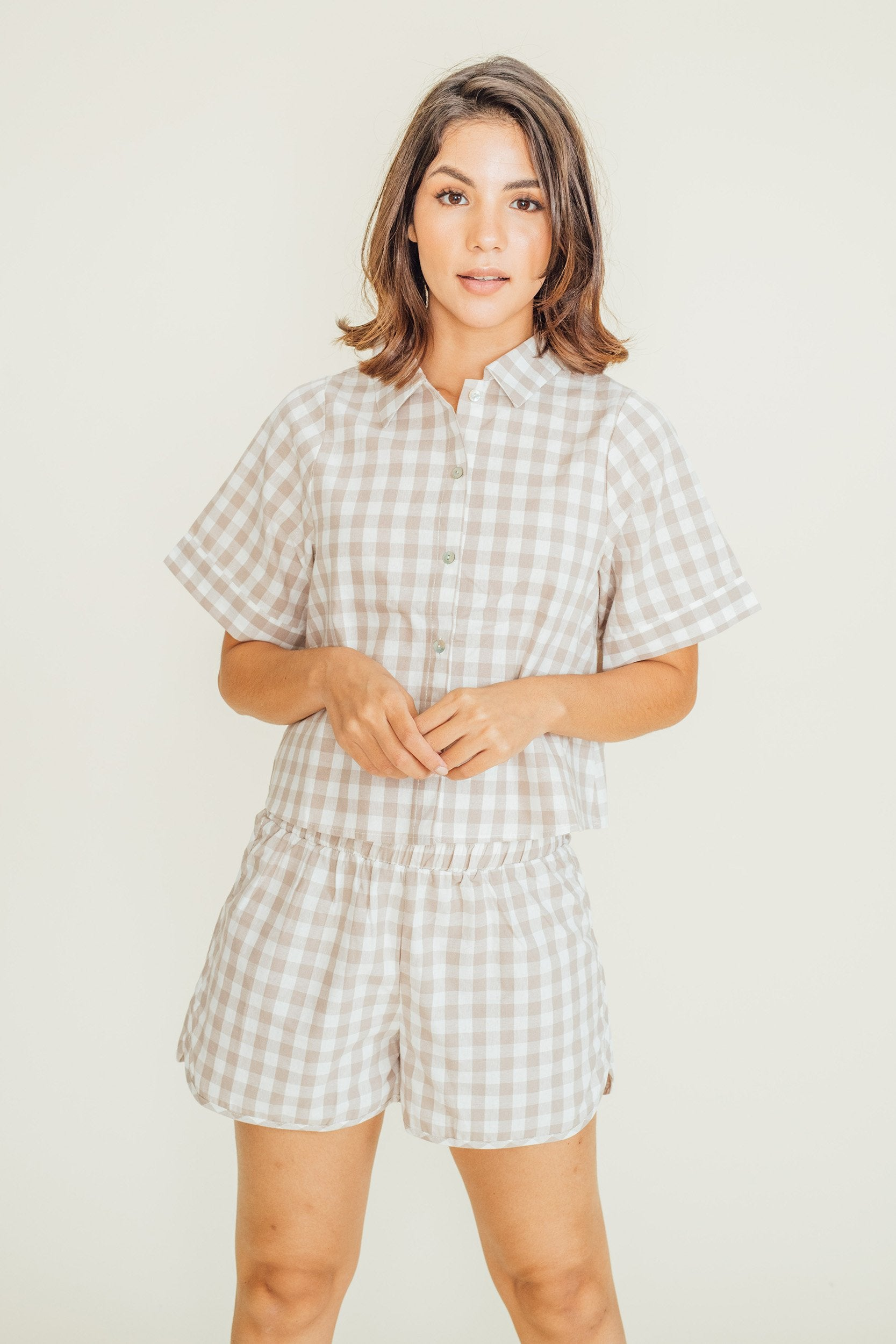 Aleha Polo and Shorts Set