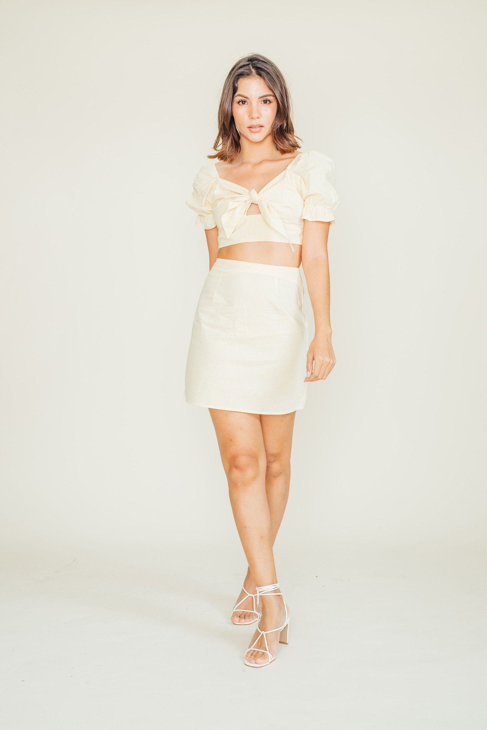 Spencer Top and Skirt Set