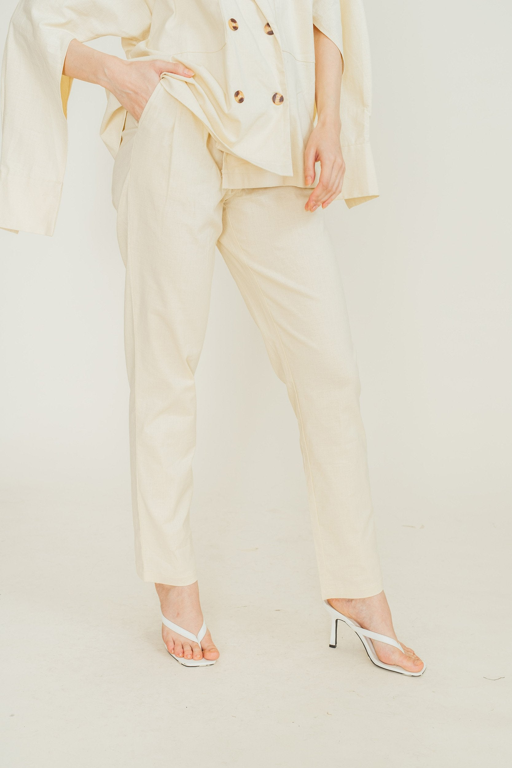 Abby Blazer and Trouser Set