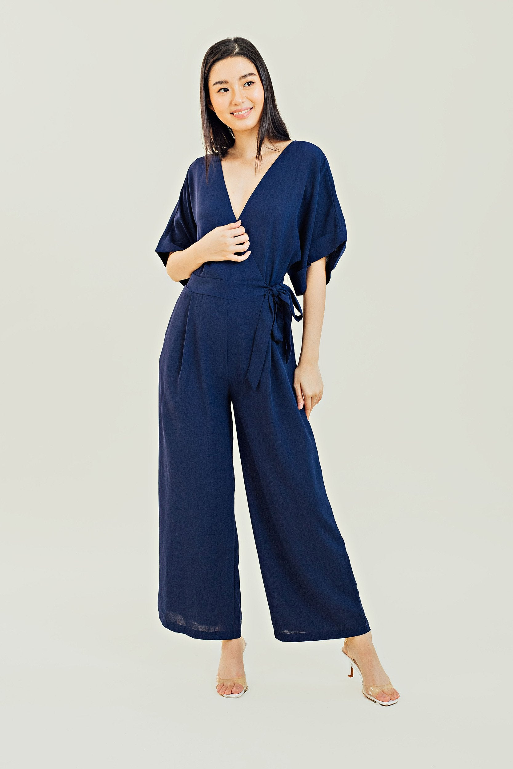 Crest Wide Leg Jumpsuit