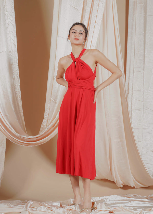 Red Infinity Dress