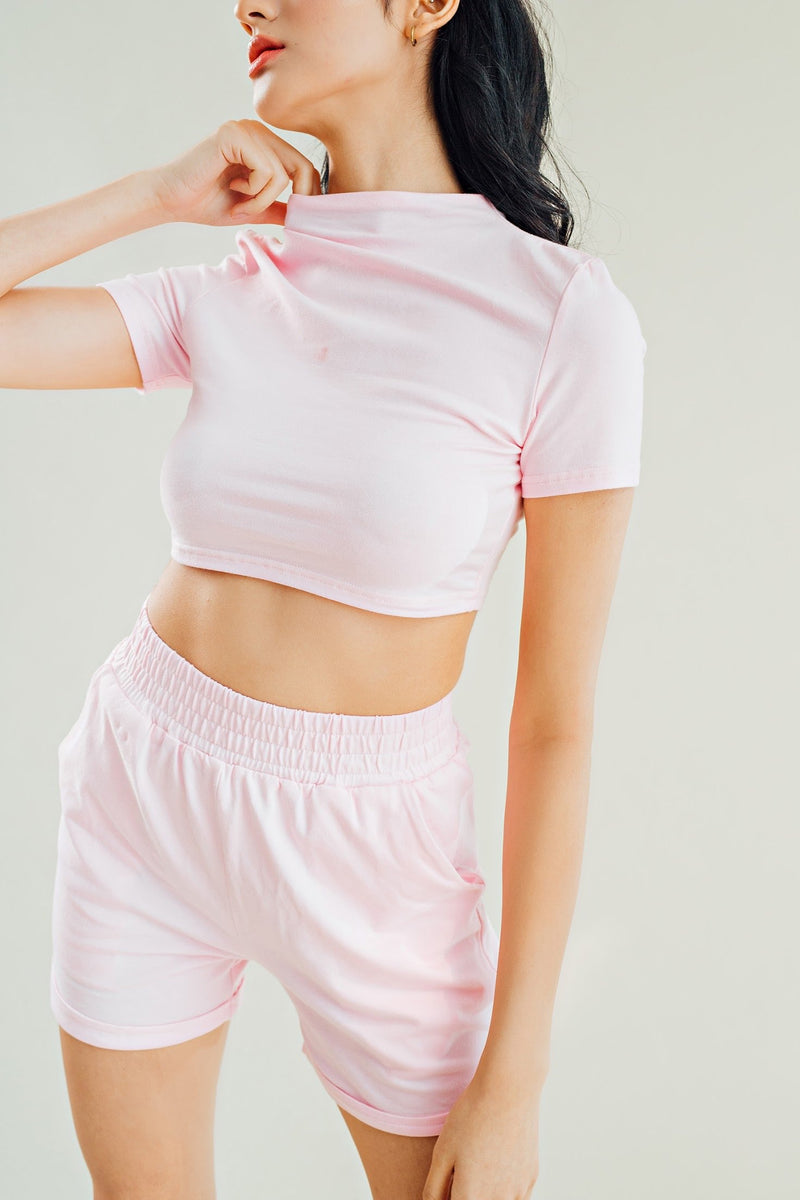 Janaya Crop Top & Shorts Set