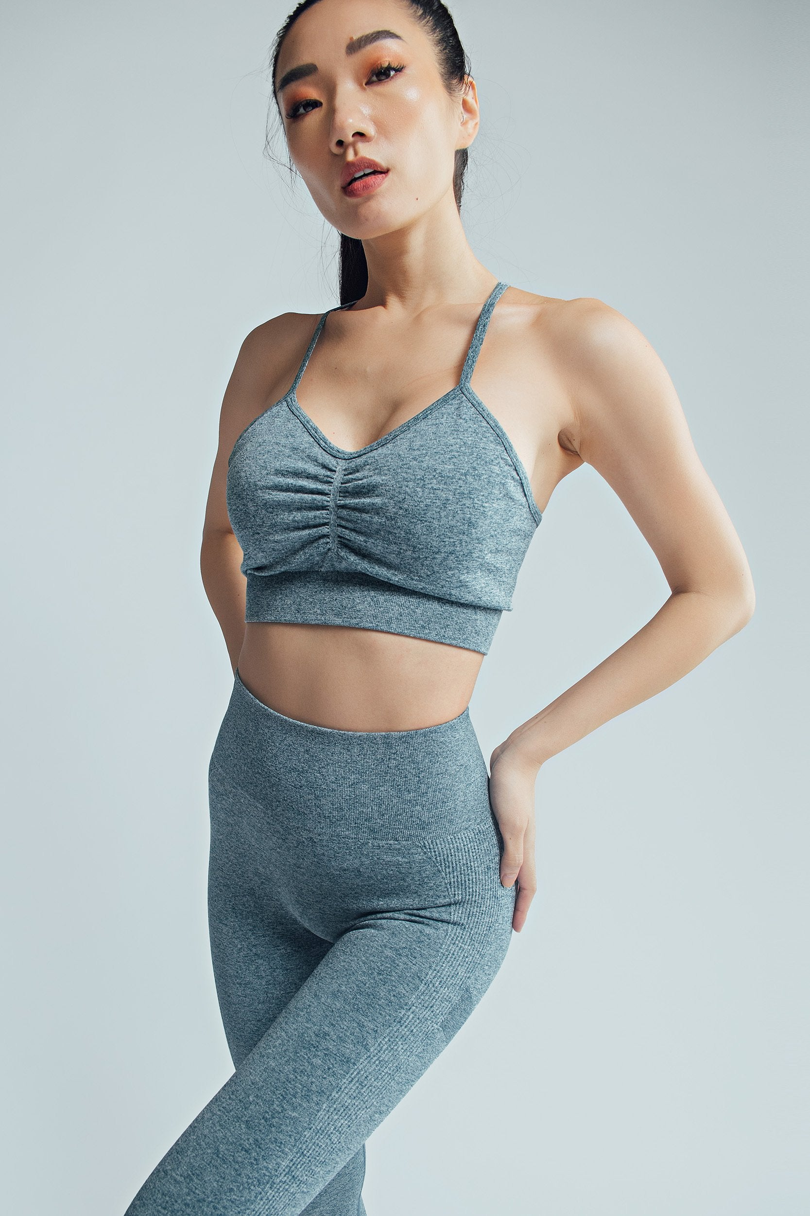Body Sculpt Pleated Bra