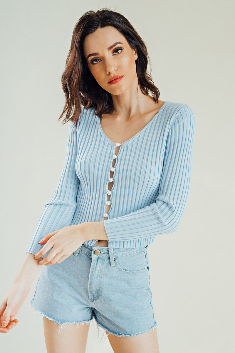 Milani Buttondown Long Sleeves Top