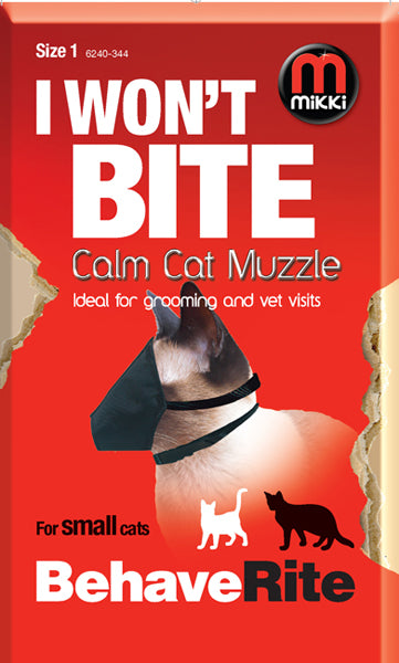 MIKKI- Calm Cat Muzzle