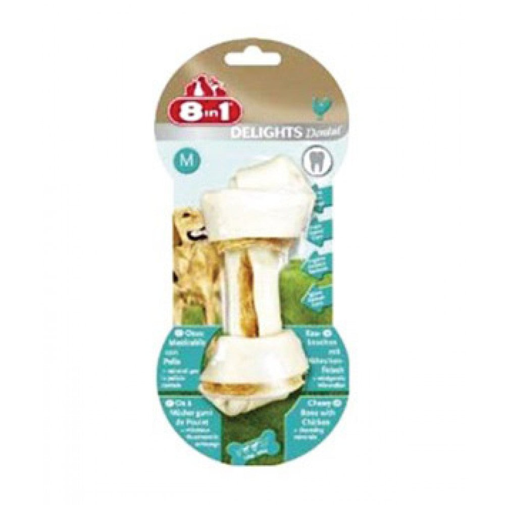 8in1 Delights Dental Bone - Medium