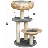Fauna Lorenz Cat Play Tower - Grey