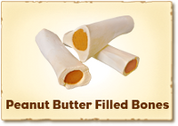 Red Barn Small Filled Bone Peanut Butter