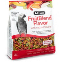 ZuPreem FruitBlend Flavor Medium & Large Parrot Food