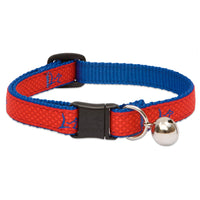 Lupine Pet DERBY Red Cat Collar Club With BELL