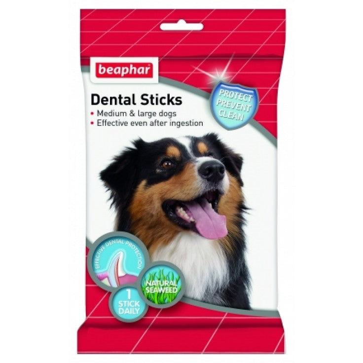 Beaphar Dental Sticks - Medium & Large Dogs